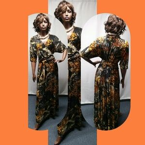 Igigi Wrap Maxi Dress